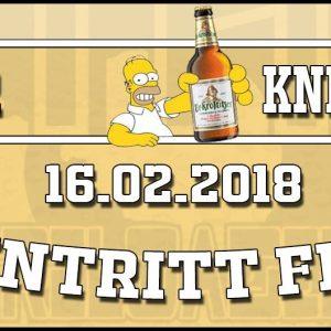 16.02.2018 - Offener Kneipenabend - STAK reloaded