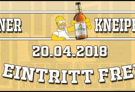 20.04.2018 - Offener Kneipenabend - STAK reloaded
