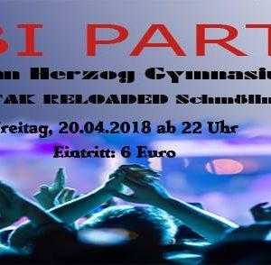 20.04.2018 - ABI Party 2k18 - STAK reloaded Schmölln