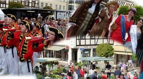 05.05.2018 - Blumenmarkt, Martkfest und Hoheitentreffen - Stadt Schmölln