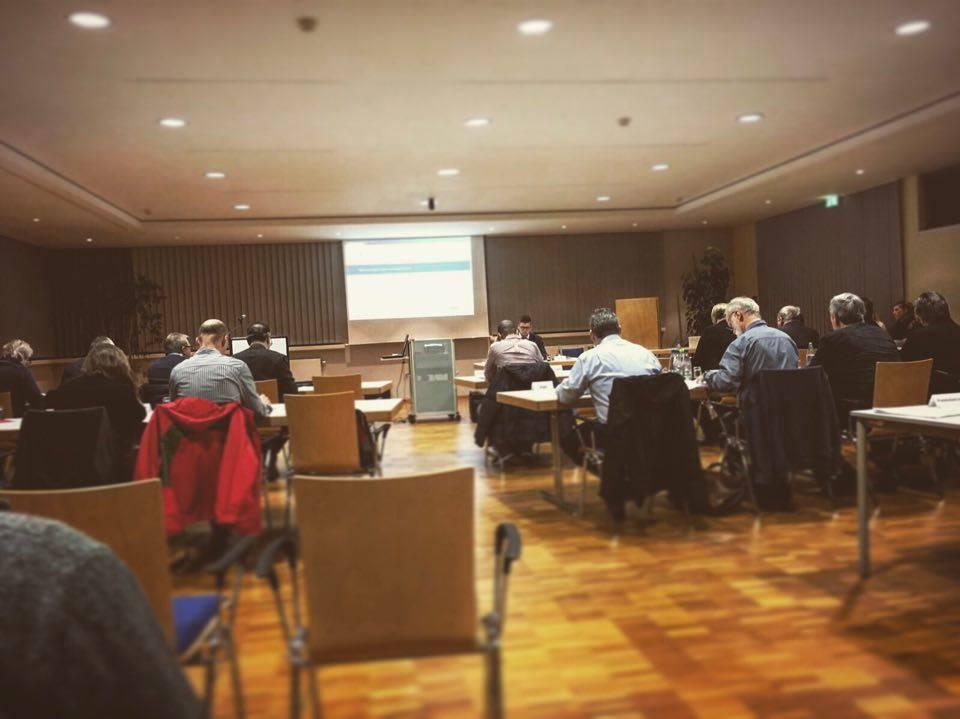 Stadtratssitzung der Stadt Schmölln im Saal des Kompetenzcenter der Sparkasse Altenburger Land in Schmölln