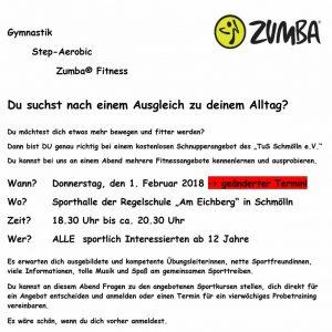 01.02.2018 - Schnupperangebot -TuS Schmölln e.V.