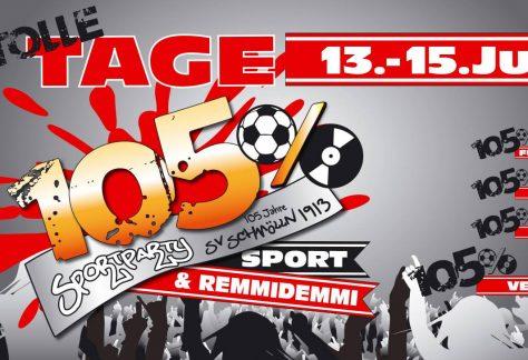13.07. - 15.07.2018 - 105 Jahre SV Schmölln 1913 e.V. - Stadt Schmölln
