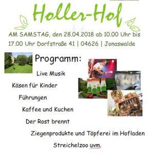 28.04.2018 - 1. Hoffest - Holler-Hof - Jonaswalde