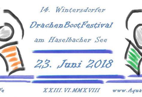 23.06.2018 - 14. Drachenbootfestival - Haselbacher See - Aqua Fun Wintersdorf e.V.