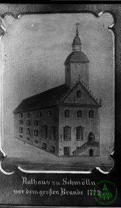 1772 - Rathaus Schmölln - Knopfstadt.de