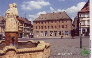 2002 - Marktbrunnen Schmölln