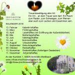 Veranstaltungen 2018 - Infoseum Schloss Weißbach - Schmölln