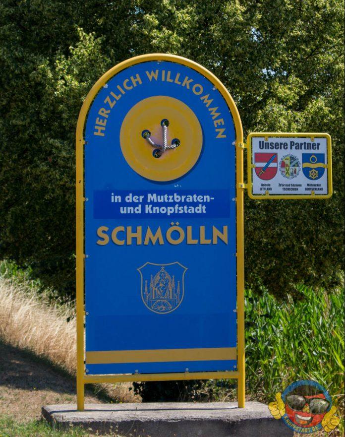 Blaulichtreport Knopfstadt.de Schmölln Ortsschild