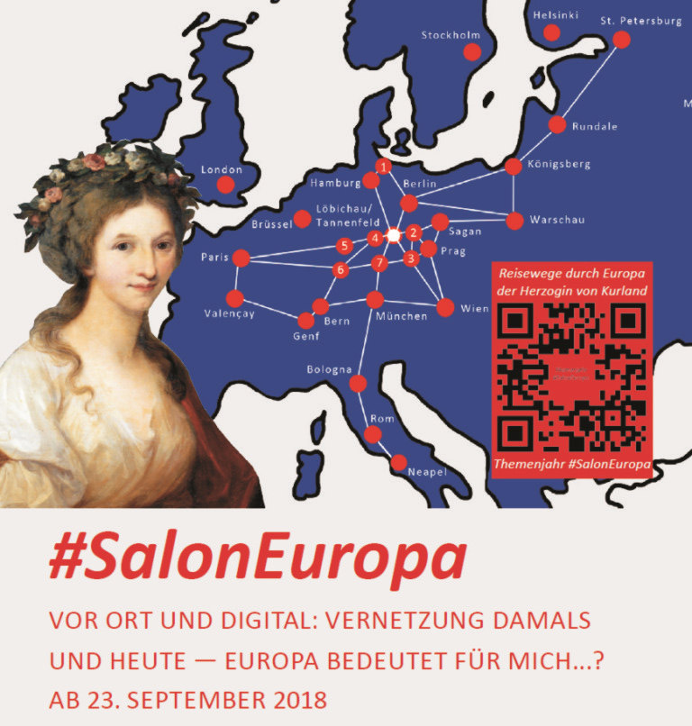 23. September - 11. November - #SalonEuropa - Museum Burg Posterstein