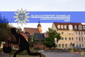 Blauchlichtreport Diebstahl Schmölln Knopfstadt.de