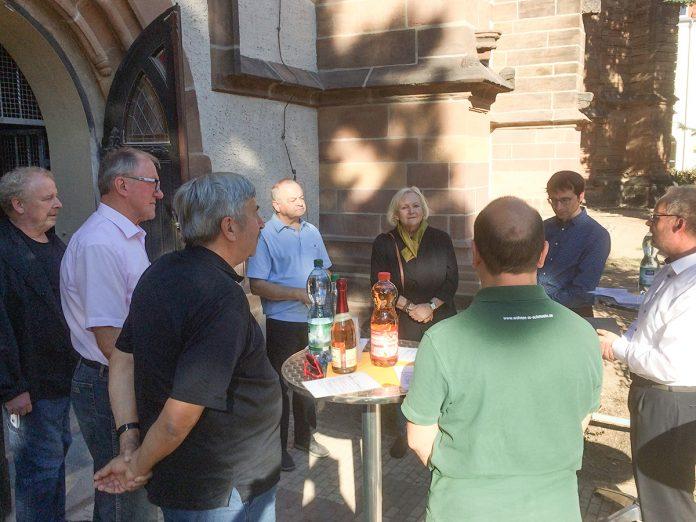 12. Oktober 2018 - Übergabe 1 Bauabschnitt - Kirchbauverein