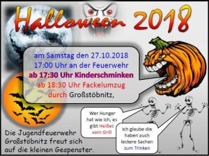 27. Oktober 2018 - Halloween 2018