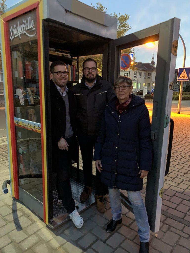 01. November 2018 - Telefonzelle - Bücherzelle