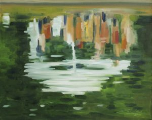 22. November 2018 - Ausstellungseröffnung: Reflektionen von Uta Oesterheld-Petry - Schmölln