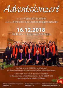 16. Dezember 2018 - Adventskonzert im Bürgerhaus Nöbdenitz