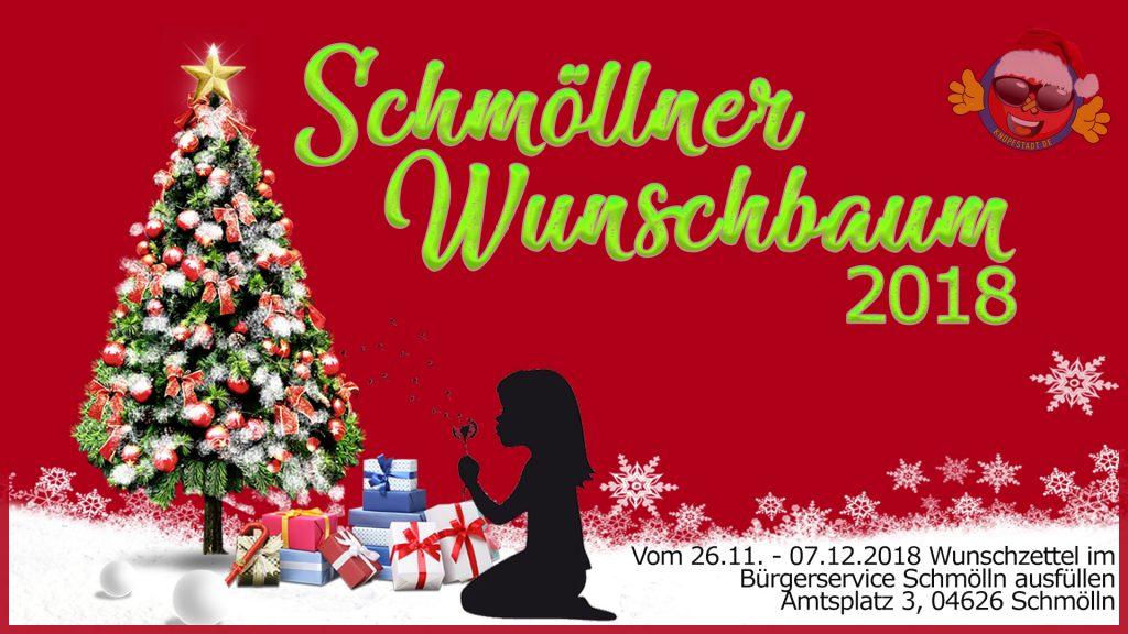 Wunschbaum Schmölln 2018 - Knopfstadt.de