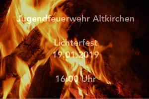 19. Dezember 2019 - Lichterfest - Jugendfeuerwehr Altkirchen