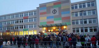 23. Januar 2019 - Demo am Roman-Herzog-Gymnasium Schmölln