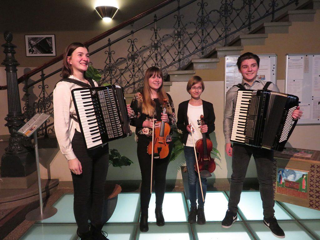 24. Januar 2019 - Altenburger Musikschüler bei Jugend musiziert