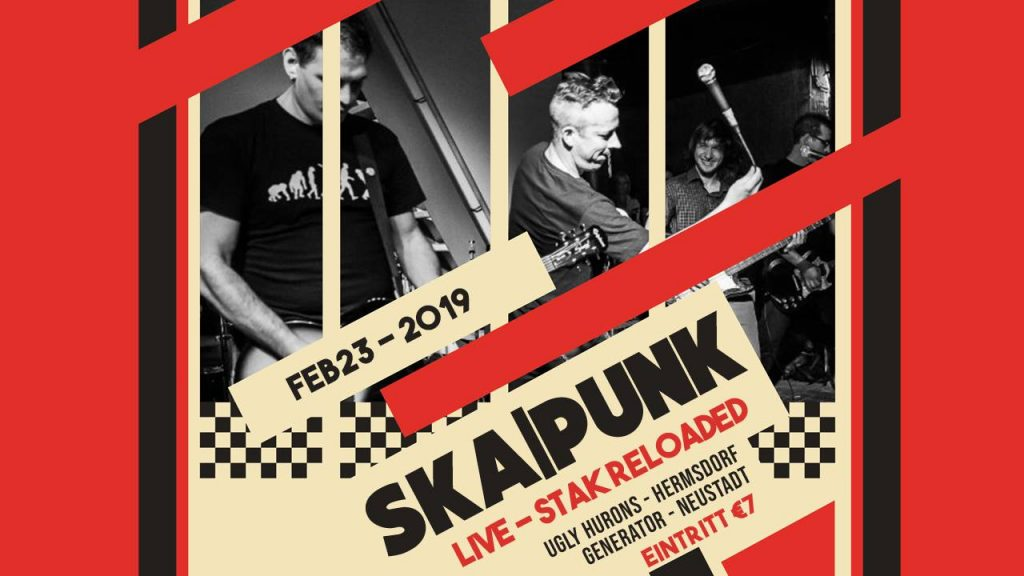 23. Februar 2019 - SKA|PUNK - STAK reloaded Schmölln