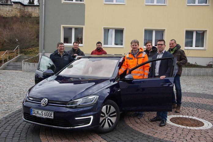 20. März 2019 - Elektroauto - Stadt Schmölln