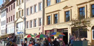 19. April 2019 - Spielfläche auf dem Markt - Altenburger Tourismus GmbH