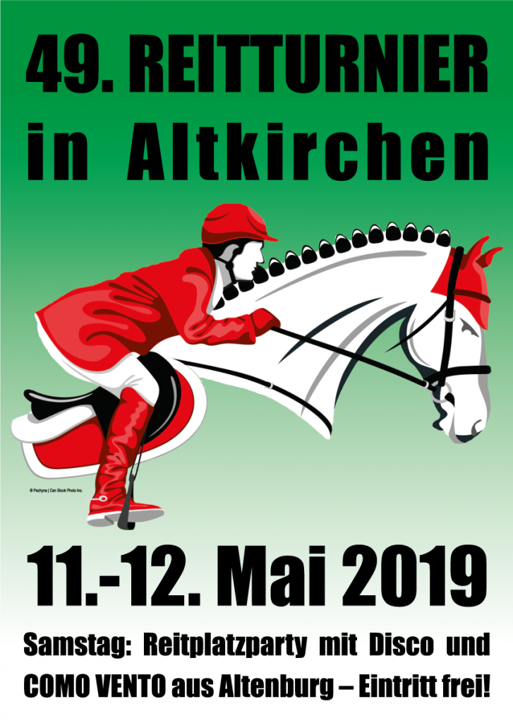 11. - 12 Mai 2019 - 49. Reitturnier - RSG Altkirchen