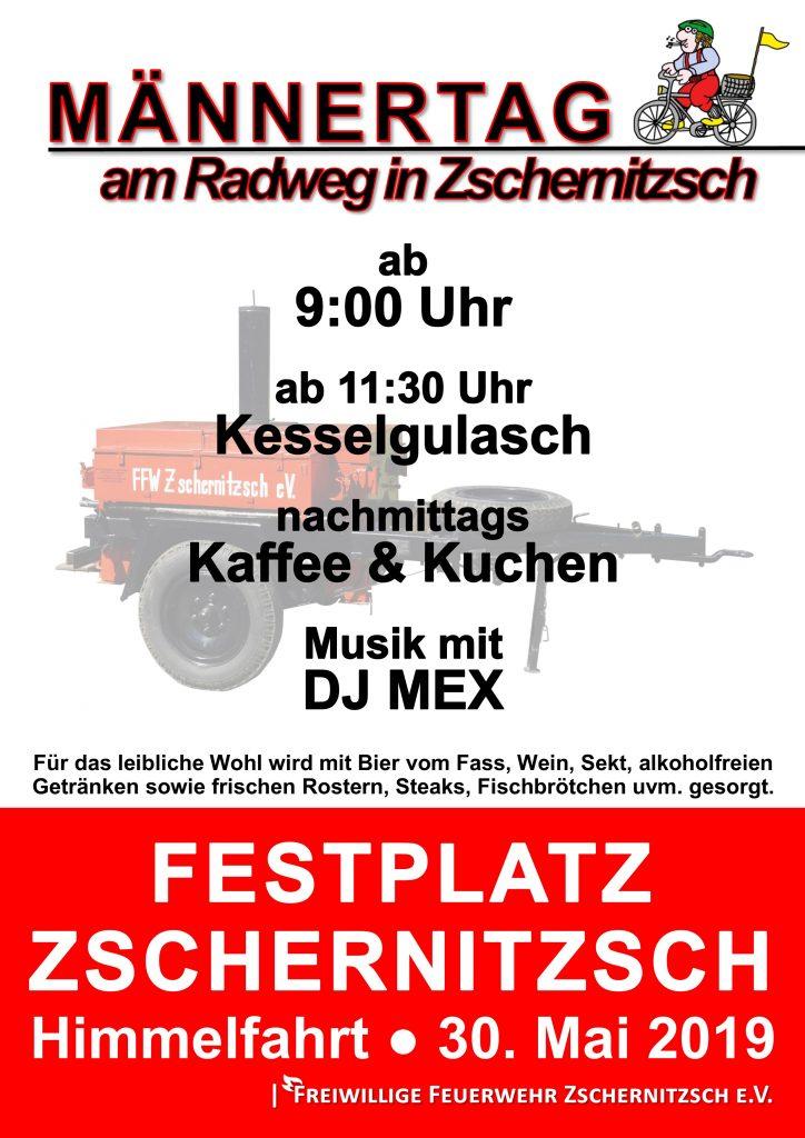20. Mai 2019 - Männertag - Freiwillige Feuerwehr Zschernitzsch