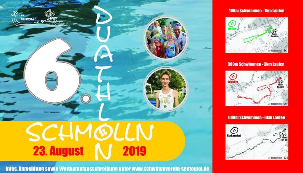 23. August 2019 - 6.Duathlon - Schwimmverein Seeteufel e.V. - LSV Schmölln