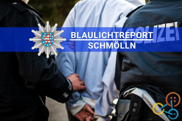 Pkw-Fluchtversuch bis zur Haustür. Polizeikontrolle in Großstöbnitz