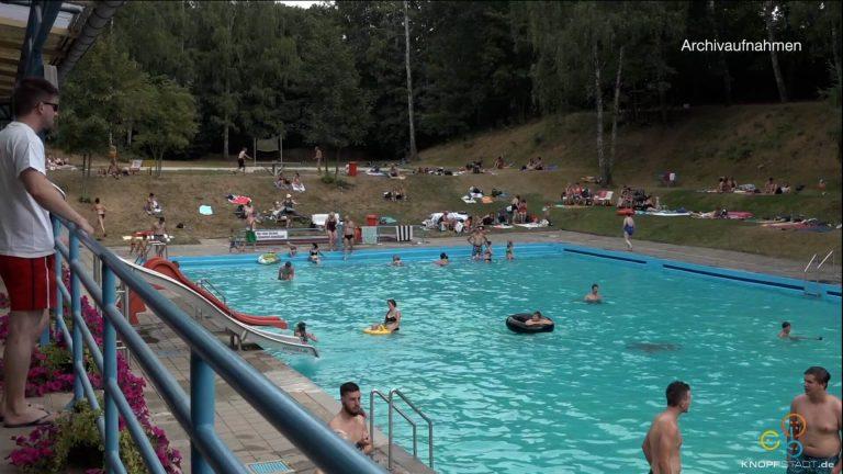 Video: Sommerzeit im Freibad Gößnitz