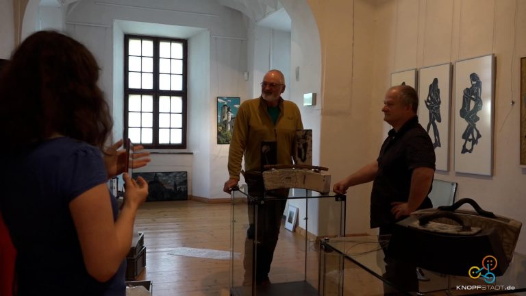 """Ausstellungseröffnung auf Posterstein – """"Wir werden 125! – Peter Zaumseil & Ludwig Laser"""""""
