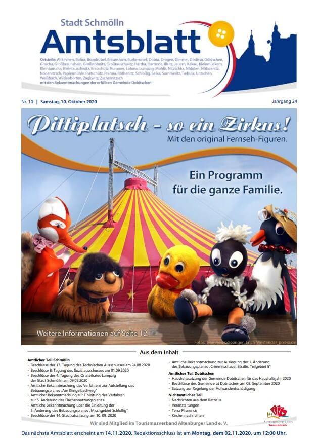 Amtsblatt Oktober 2020