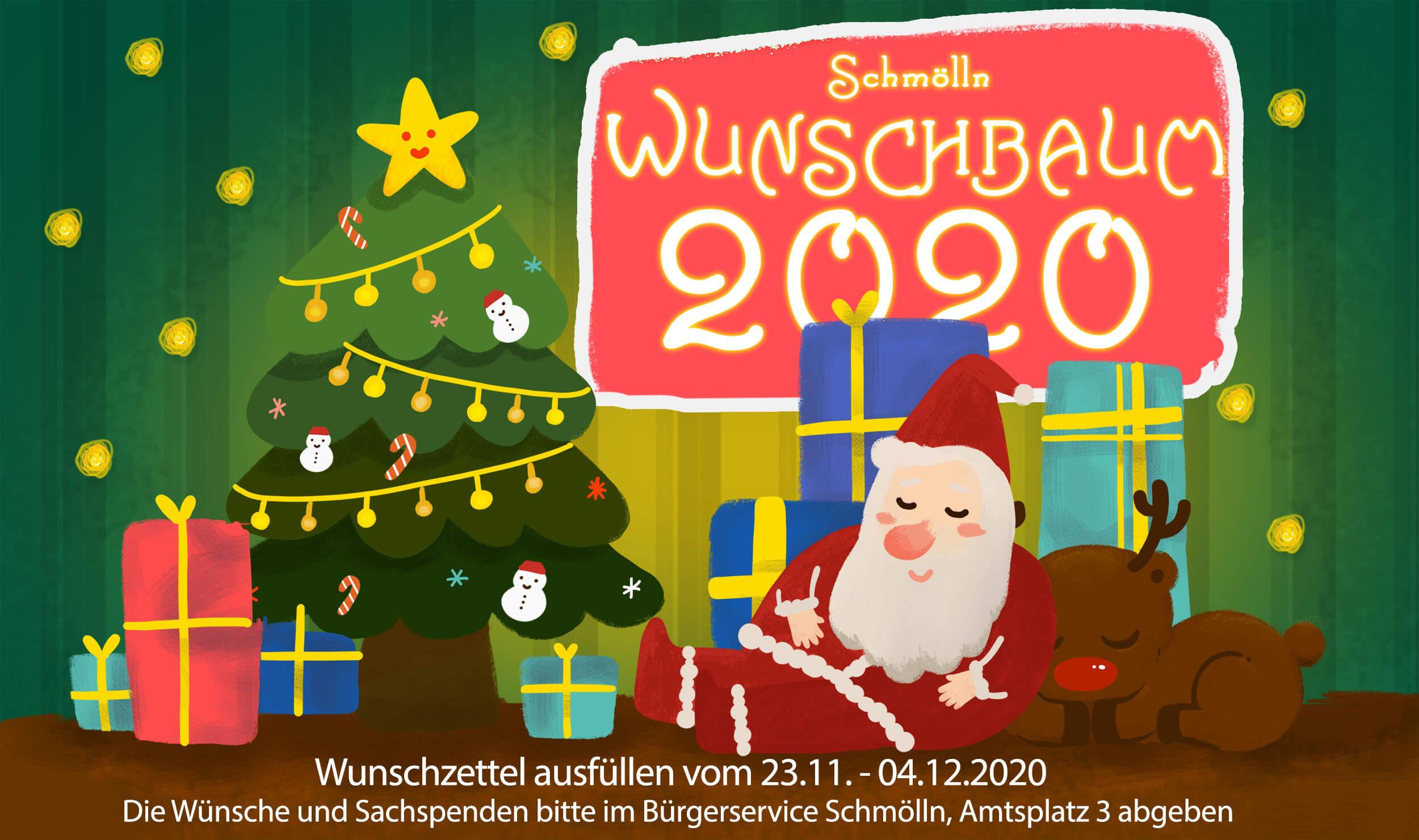 2020 Wunschbaum - Knopfstadt.de