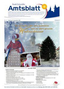 Amtsblatt Schmölln Dezember 2020