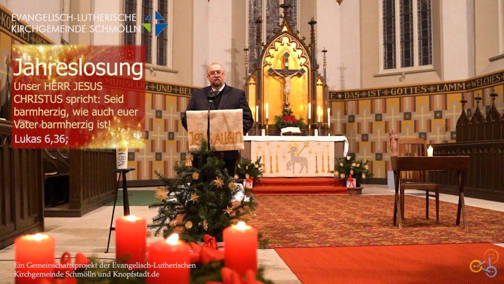 Andacht Silvester/Neujahr zur Jahreslosung 🎇, 31. Dezember 2020