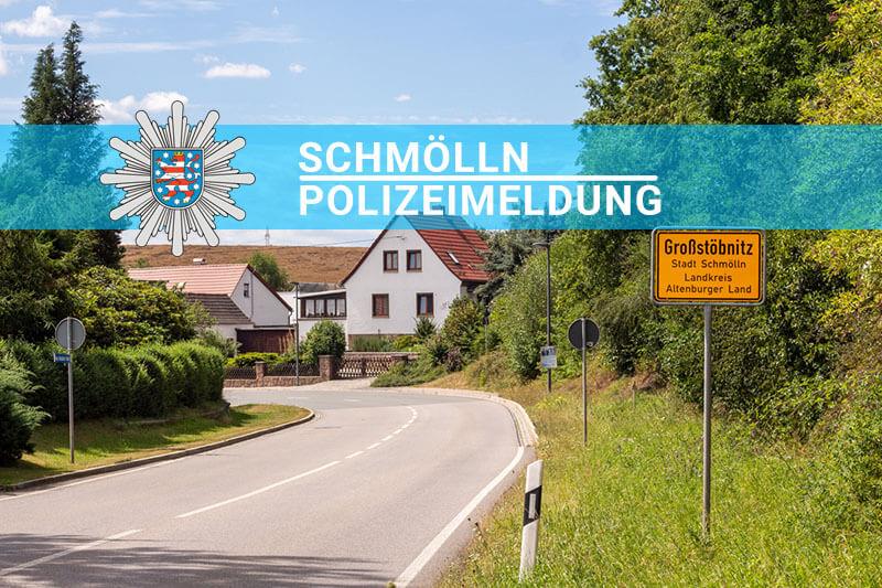 Knopfstadt Polizeimeldung Großstöbnitz, Stiemtz