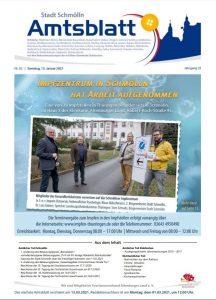 Amtsblatt Schmölln Februar 2021