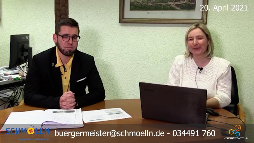 20. April 2021 - Digitale Bürgersprechstunde Schmölln