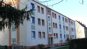 Schöne 3-Raum Wohnung mit Balkon und Einbauküche